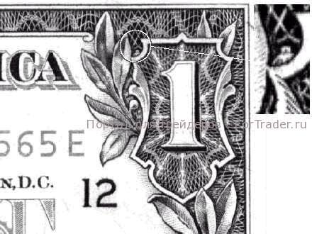 сова на долларе