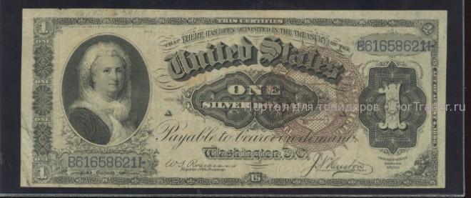 доллар с женщиной