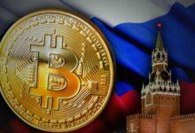 Picha ya Bitcoin ilichukua dhahabu katika umaarufu nchini Urusi